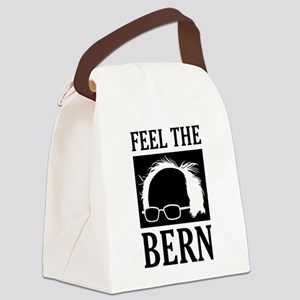 Feel the Bern [Hair] Canvas Lunch Bag
